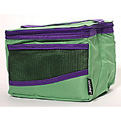 Sistema Maxi Fold Up Insulated Lunch Cooler Bag, Green