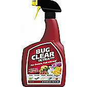 Bug Clear Gun Ultra - 1 Litre - Ready to Use Spray