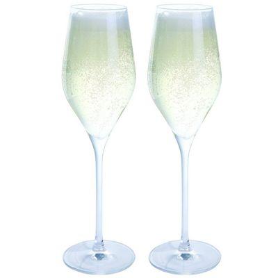 Dartington Crystal Bar Essentials Prosecco Glasses – Pack of 2
