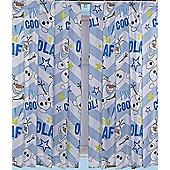 Disney Frozen Olaf Curtains 66 inch x 72 inch (168cm x 183cm)