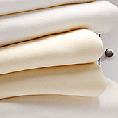 Bed-e-ByesJersey Fitted Sheets 2 Pack - Cream
