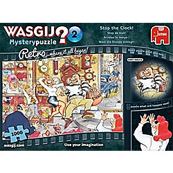 Wasgij Retro - Mystery 2 - Stop the Clock - 1000pc Puzzle
