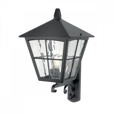 Black Wall Up Lantern - 1 x 150W E27
