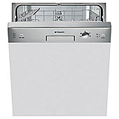 Hotpoint Aquarius Semi Integrated Dishwasher LSB 5B019 X - Stainless Steel
