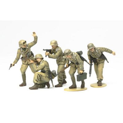 Tamiya 35314 German Africa Corps Infantry 1:35 Military Model Kit