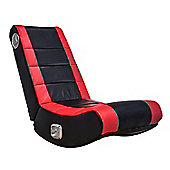 X Rocker Flash 2.0 Floor Rocker - Black / Red