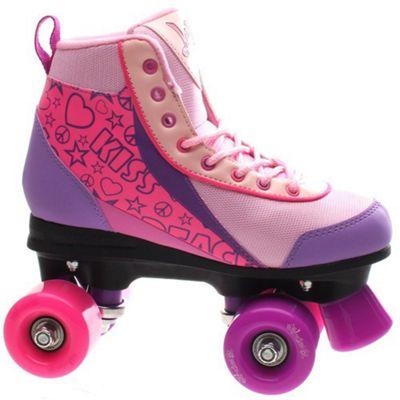 Luscious Retro Quad Roller Skates - Pure Passion - UK 3