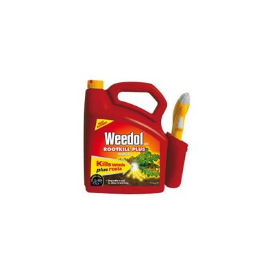 Weedol Root Kill Plus Gun - 5L Weedkiller Kills Roots & Weeds