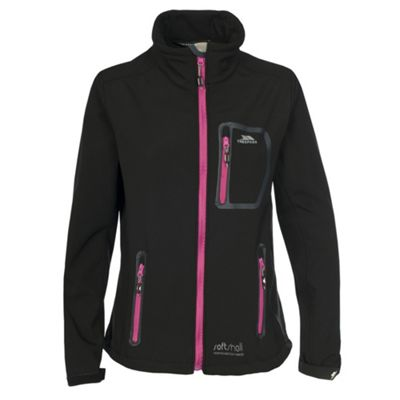 Trespass Homelake Softshell Jacket L Black