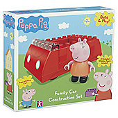 Peppa Family Car Construction Set