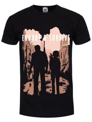 Endure & Survive Men's T-shirt, Black.