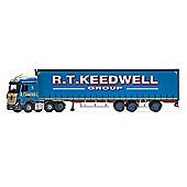 CORGI CC15808 Mercedes-Benz Actros (MP4) Super Trailer Curtainside Keedwell