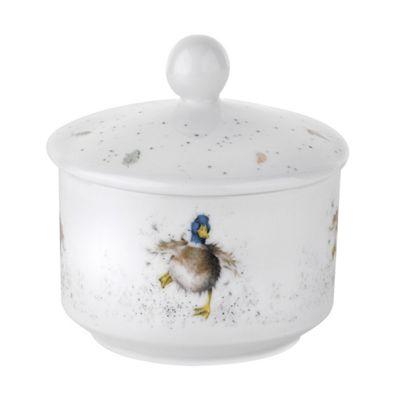 Royal Worcester Wrendale Covered Sugar Pot