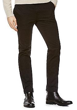 F&F Stretch Skinny Chinos - Black