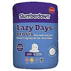 Slumberdown Lazy Days Bedset 10.5 Tog Single