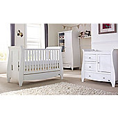 Tutti Bambini Lucas 3 Piece Nursery Room Set White Finish