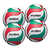 Molten 4 X V5M1800-L Volleyballs