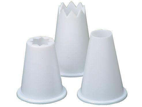 Faringdon 17841249 Food Piping Nozzle Plastic X3