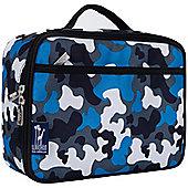 Kids' Lunch Box- Blue Camo