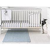 East Coast Hudson 2 Piece Nursery Room Set with Sprung Mattress (White)