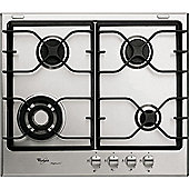 Whirlpool AKT 680 IXL 60cm Gas Hob in Stainless Steel