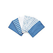 Mothercare Whale Bay Muslins - 6 Pack