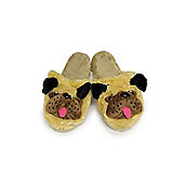 Character Pug slippers