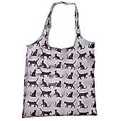 Puckator Cat Silhouette Foldable Bag