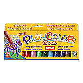 Playcolor Basic One 10g Solid Poster Paint Stick (Pack of 12 - Assorted Colours)