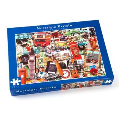 Nostalgic - British Passport - 1000pc Puzzle