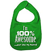 Dirty Fingers I'm 100% awesome just like my Aunty Bib Green