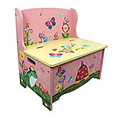 Fantasy Fields by Teamson Magic Garden Storage Bench