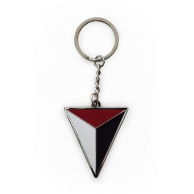 Uncharted 4 A Thief's End Shoreline Triangle Logo Keychain, Multi-colour