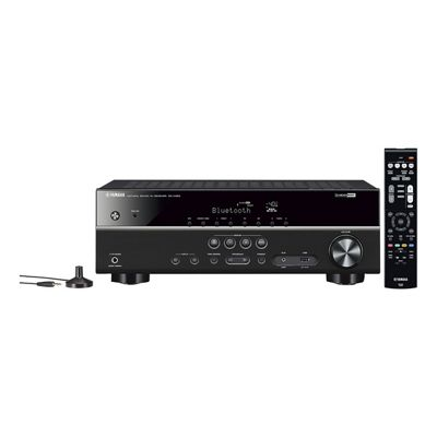 YAMAHA-RXV383BLB 5 Channel AV Receiver in Black with Built-in Bluetooth and Airplay