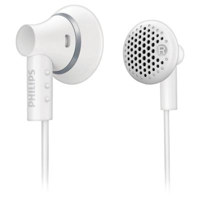 Philips SHE3000 Ear Bud Headphones - White