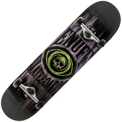 Enuff Skull Green 7.75 Inch Complete Skateboard