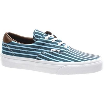 Vans Era 59 (Stripes) Blue/True White Shoe UC6C4E