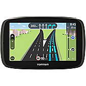 "TomTom GO 51 5"" Sat Nav with Lane Assist, Voice Command, Lifetime Map & Traffic Updates"