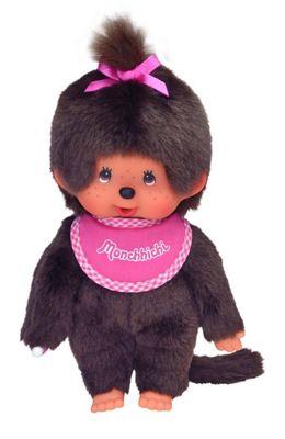 Monchhichi 25507 20 Cm Pink Bib Girl Doll