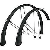 SKS Longboard 700c Mudguard Set Black