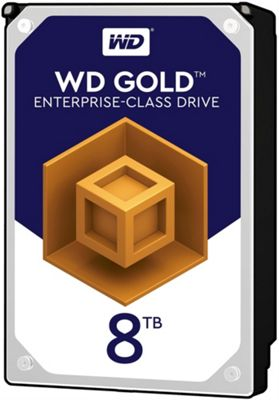 WD 8TB Gold 128MB 3.5IN SATA 6GB/S 7200RPM Hard Drive