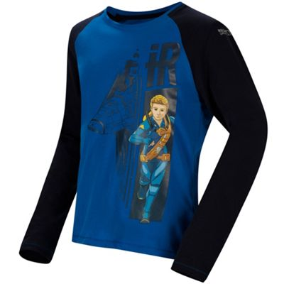 Regatta Boys Peril T-Shirt Oxford Blue 5-6