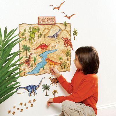 Dino Park Children's Wall Sticker