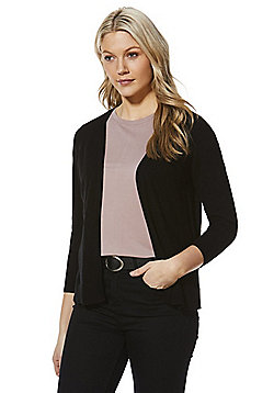 F&F Open Front Cardigan - Black