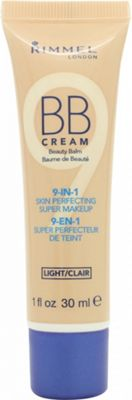 Rimmel BB Cream 9 in 1 Super Makeup Skin Perfecting 30ml - Light