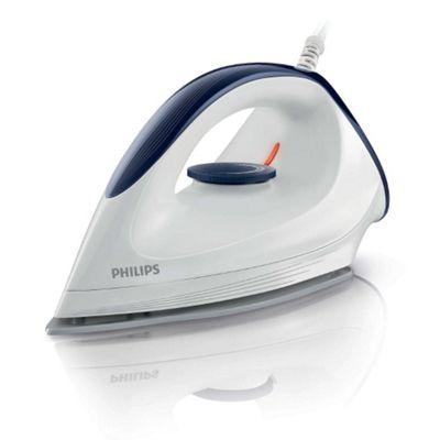 Philips GC160/02 Affinia Dry Iron, 1200W - White