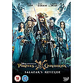Pirates Of The Caribbean - Salazars Revenge DVD