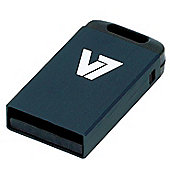 V7 Nano USB 2.0 Flash Drive 32GB Black