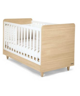 Mamas & Papas - Manhattan Cot/Toddler Bed - Natural/White