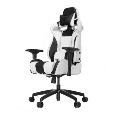 Vertagear Racing Series S-Line SL4000 Rev. 2 Gaming Chair - White / Black Edition
